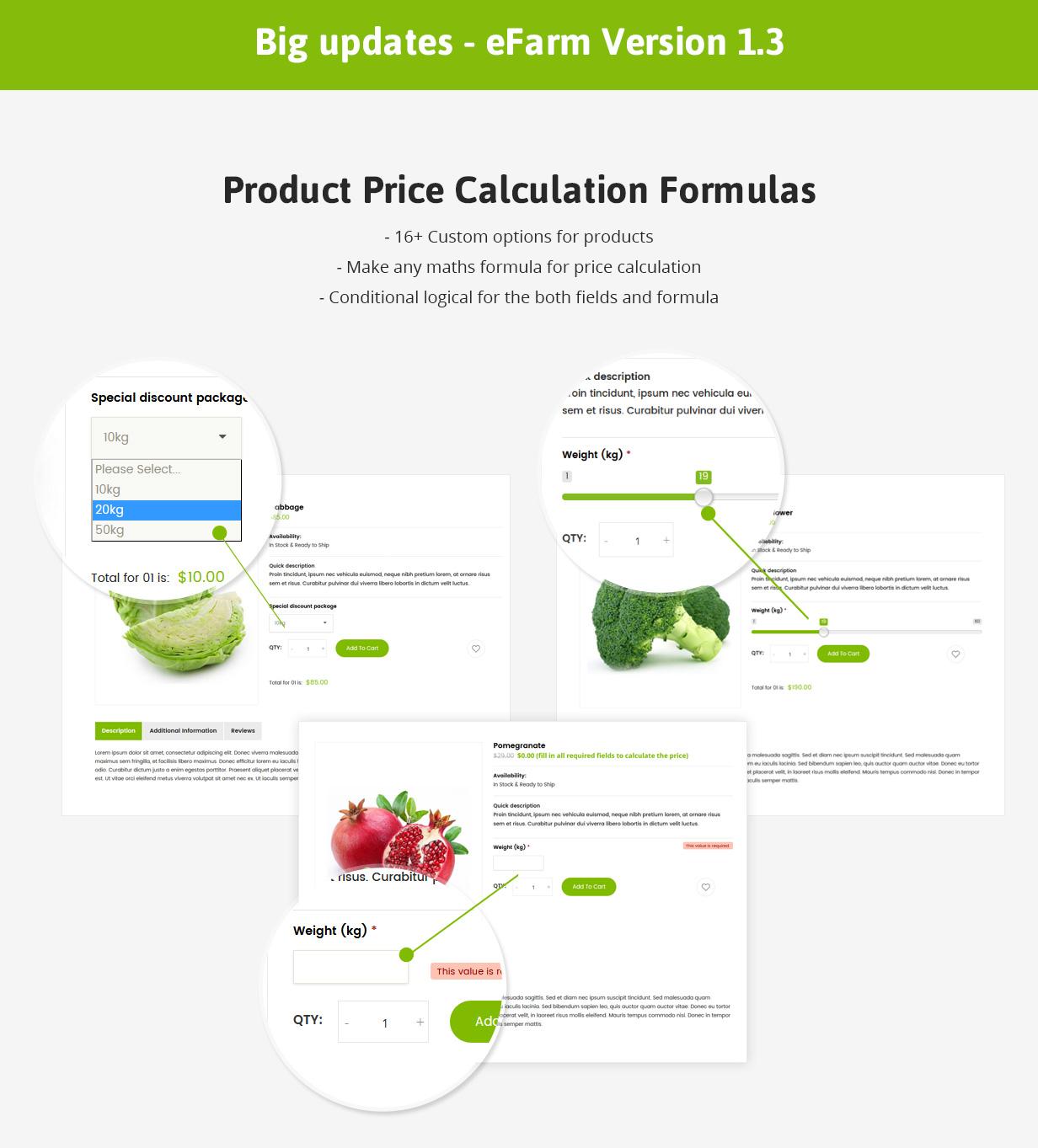 eFarm - Ein vielseitiges WordPress-Layout für Lebensmittel und Farmen - 6