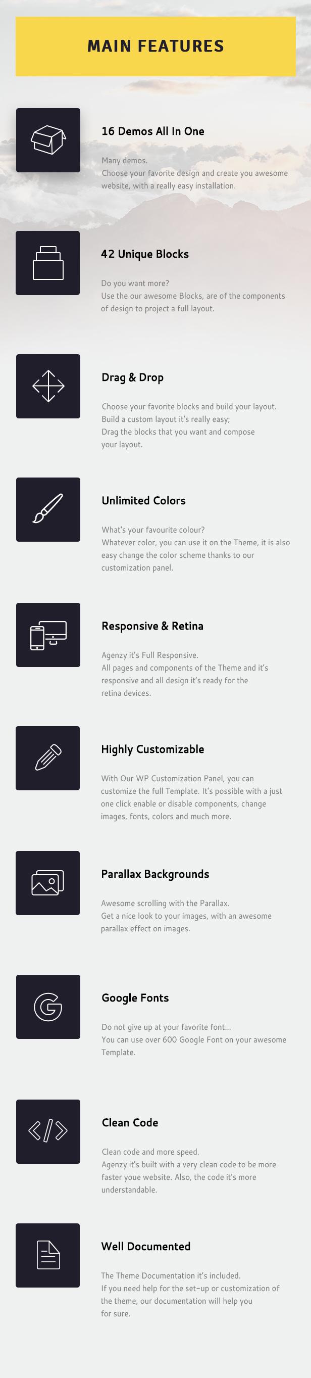 Agenzy - Mehrzweck-WordPress-Vorlage - 10