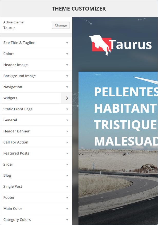 Taurus-Funktionen