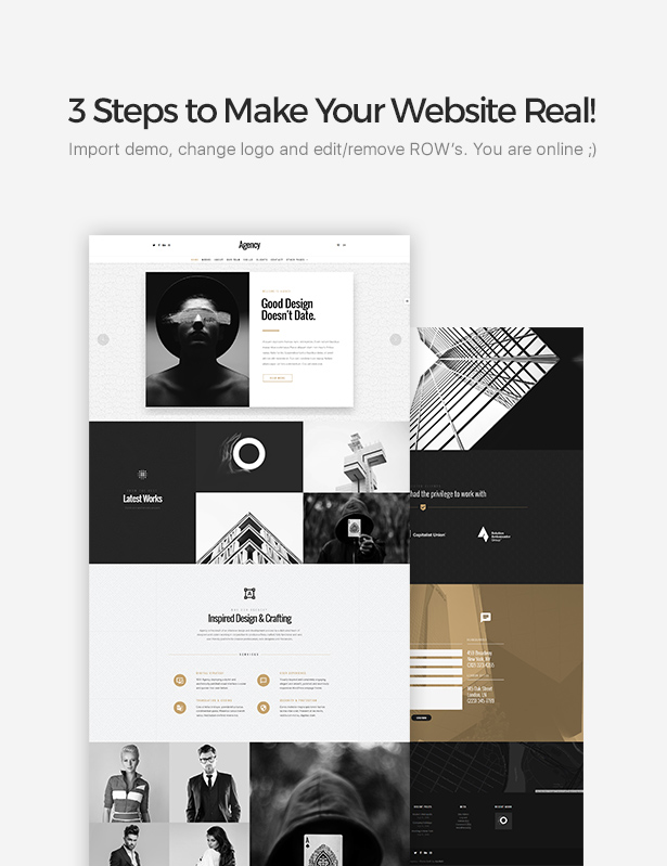 Agentur   Kreatives Mehrzweck-WordPress-Vorlage - 2