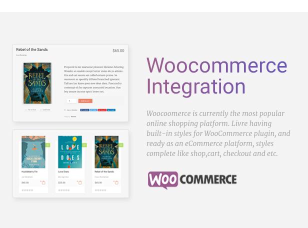 Livre - WooCommerce Template für Buchhandlung - 4