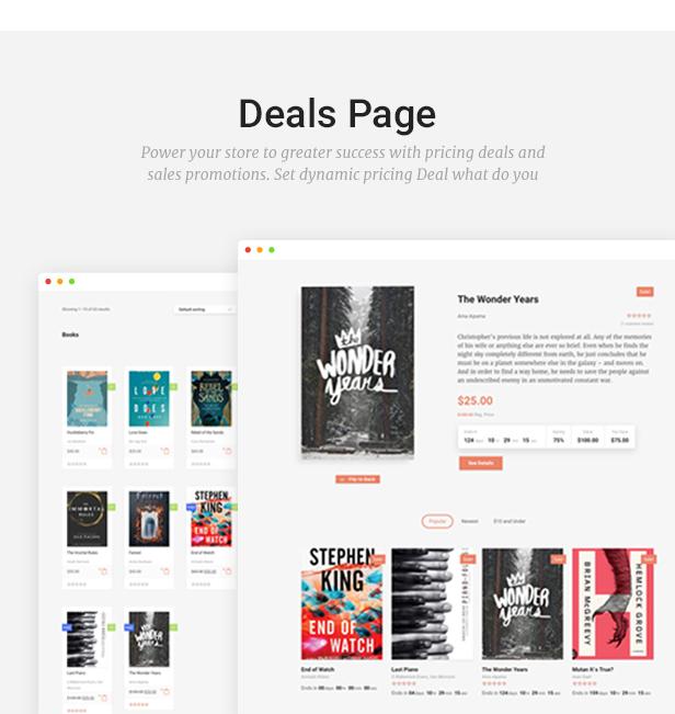 Livre - WooCommerce Template für Buchhandlung - 14
