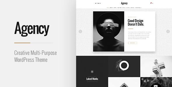 Wordpress Kreativ Template Agency   Creative Multi-Purpose WordPress Theme