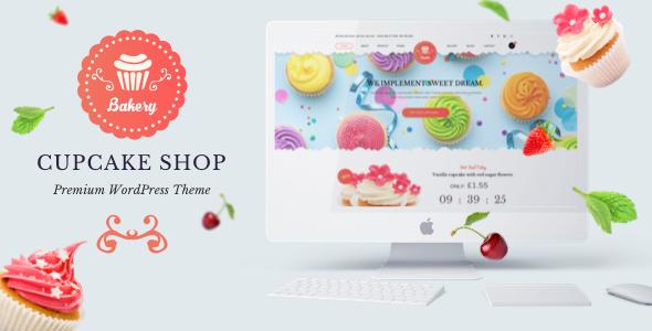 Wordpress Shop Template Bakery Premium WordPress Theme