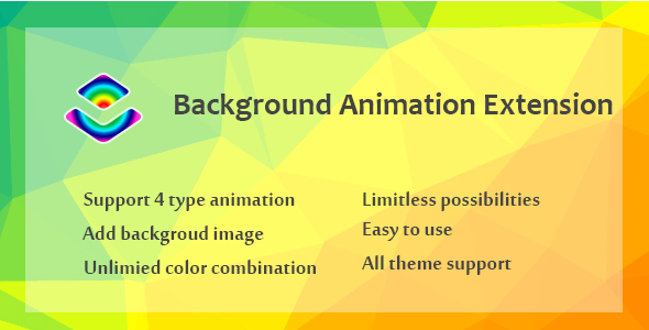 Wordpress Add-On Plugin Layer - Background Animation Extension