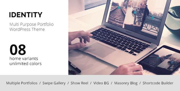 Wordpress Kreativ Template IDENTITY - WordPress Multi-Purpose Portfolio