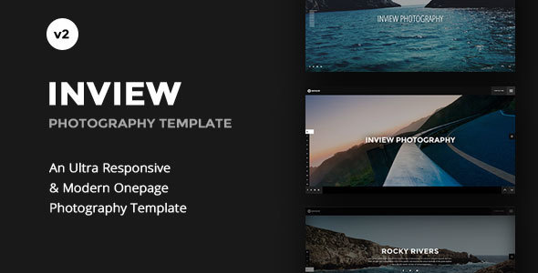 Wordpress Kreativ Template Inview - Full Screen Photography WordPress Theme