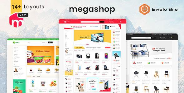 Wordpress Shop Template Mega Shop - WooCommerce Multi-Purpose Responsive Theme