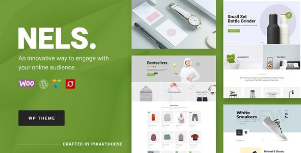 Wordpress Shop Template Nels - An Exquisite eCommerce WordPress Theme