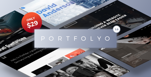 Wordpress Kreativ Template Portfolyo - Creative Multi-Purpose WordPress Theme