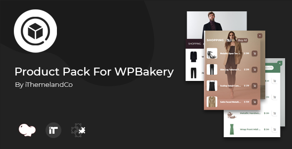Wordpress Add-On Plugin Product Pack For WPBakery Page Builder (Visual Composer)