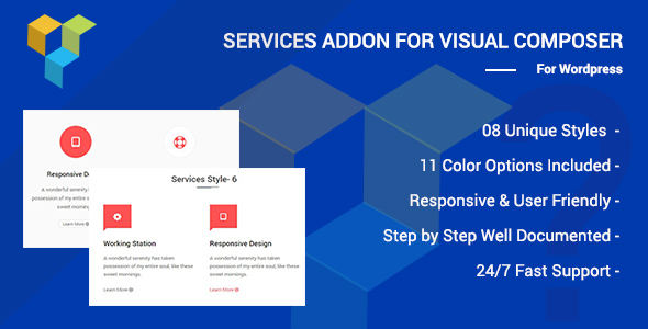 Wordpress Add-On Plugin Services Addons for Visual Composer Page Builder