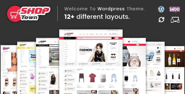 Wordpress Shop Template Shop Town - Multipurpose WooCommerce Theme