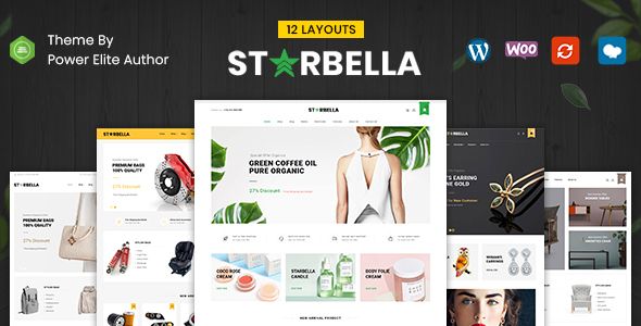 Wordpress Shop Template StarBella - Multipurpose WooCommerce Theme
