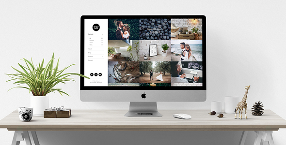 Wordpress Kreativ Template Sugarland – Contemporary Portfolio for Creatives that Stands Out WordPress Theme