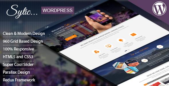 Wordpress Kreativ Template Sytic - One Page Multi-Purpose Responsive WP Theme