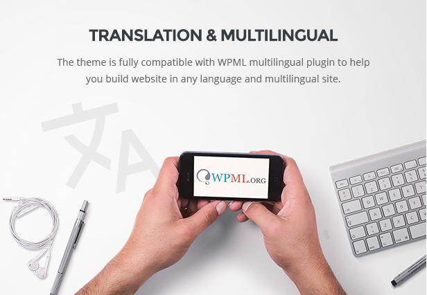 Responsive Furniture WooCommerce WordPress Template Übersetzung