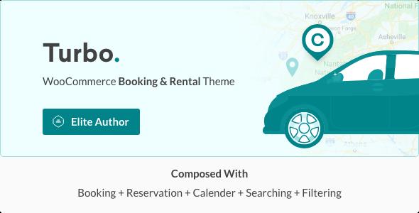 Wordpress Shop Template Turbo - WooCommerce Rental & Booking Theme