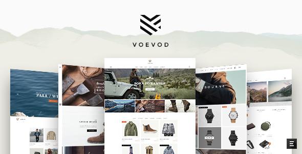 Wordpress Shop Template Voevod - WooCommerce Store