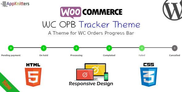 Wordpress E-Commerce Plugin WC OPB Tracker Theme