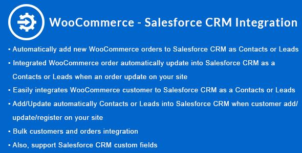 Wordpress E-Commerce Plugin WooCommerce - Salesforce CRM Integration