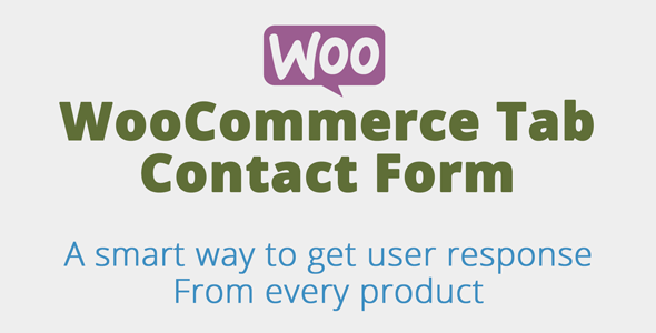 Wordpress E-Commerce Plugin Woocommerce Product Tab Contact form