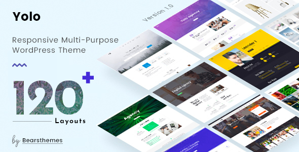Wordpress Kreativ Template Yolo | Multi-Purpose Creative WordPress Themes