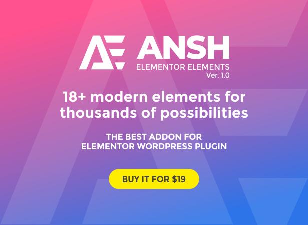 Ansh-Elemente für Elementor - 1