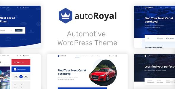 Wordpress Directory Template autoRoyal - Automotive WordPress Theme