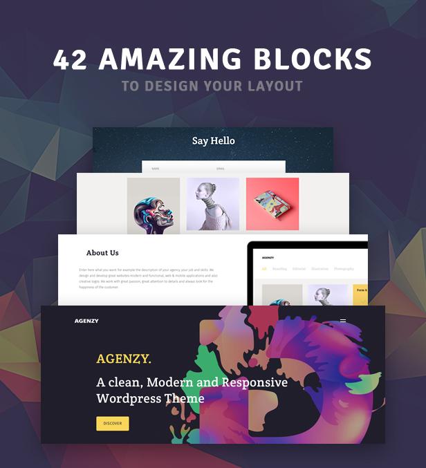 Agenzy - Mehrzweck-WordPress-Vorlage - 6