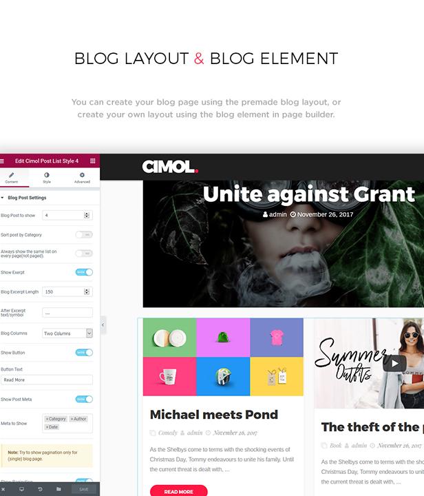Cimol - Responsive One Page & Multi Page Portfolio Layout - 2
