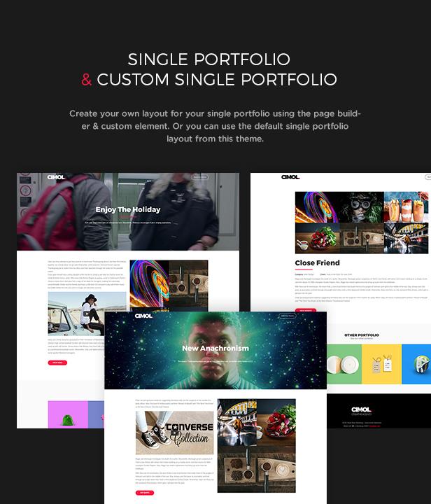 Cimol - Responsive One Page & Multi Page Portfolio Layout - 5