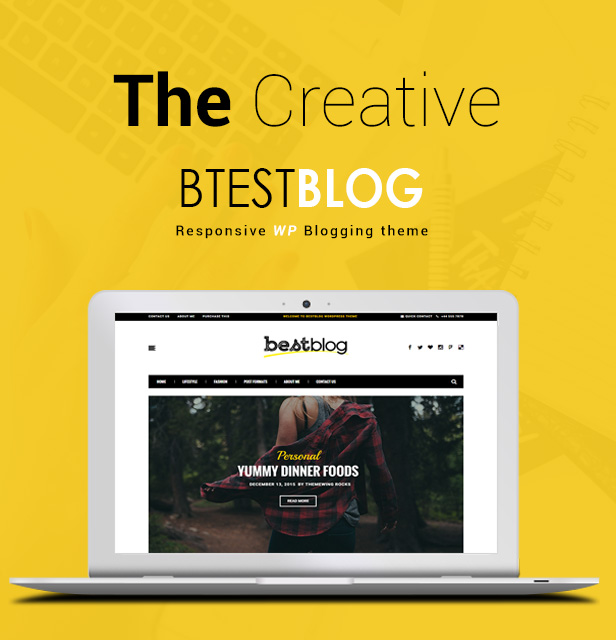 BestBlog - Responsives WordPress Blog Vorlage - 2
