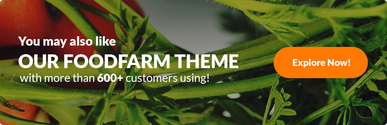 eFarm - Ein vielseitiges WordPress-Layout für Lebensmittel und Farmen - 4