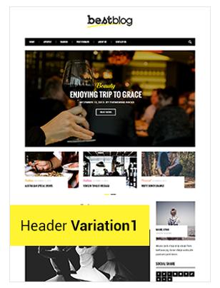 BestBlog - Responsives WordPress Blog Vorlage - 4