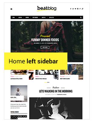 BestBlog - Responsives WordPress Blog Vorlage - 9
