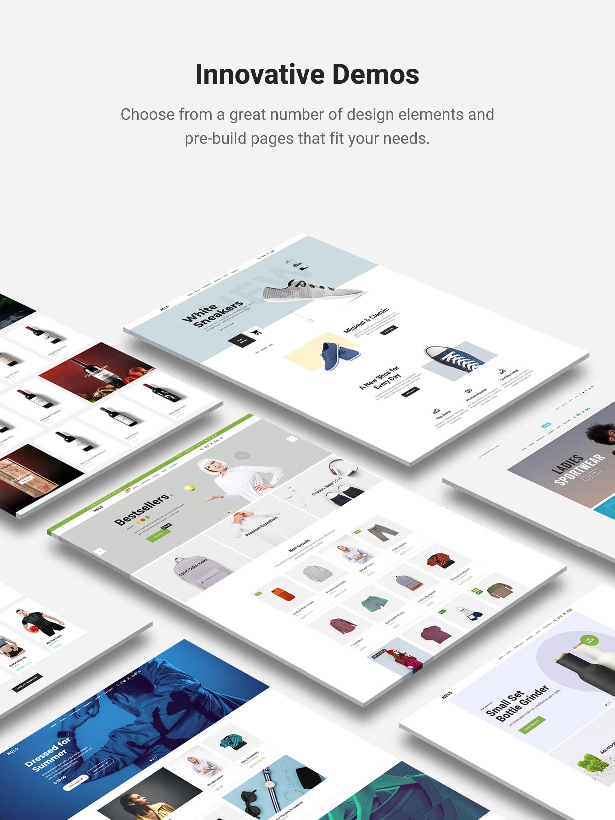 Nels - Ein exquisites eCommerce WordPress Template - 2