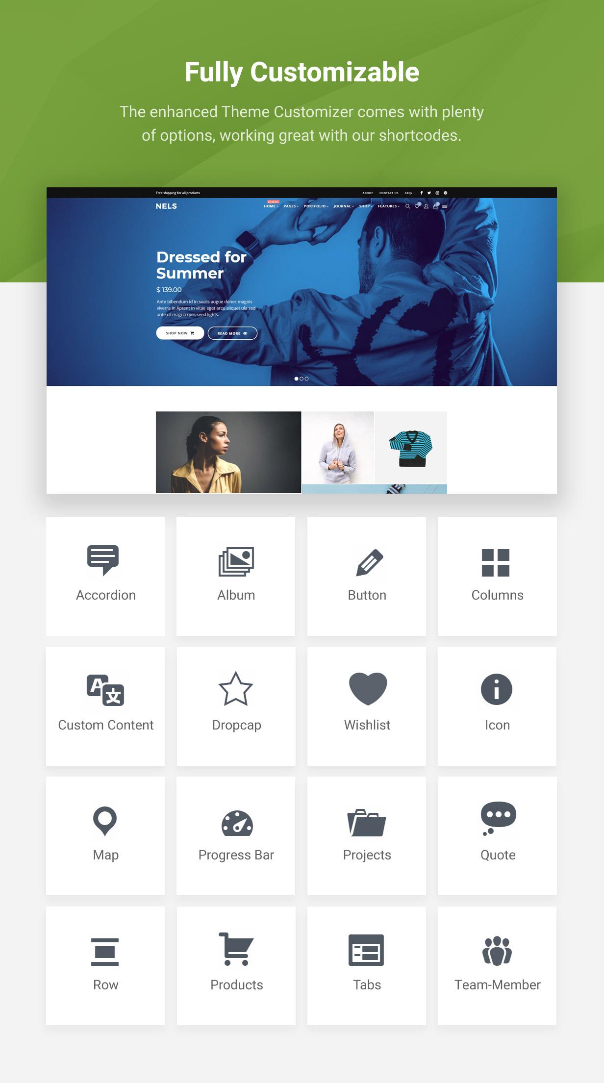 Nels - Ein exquisites eCommerce WordPress Template - 3