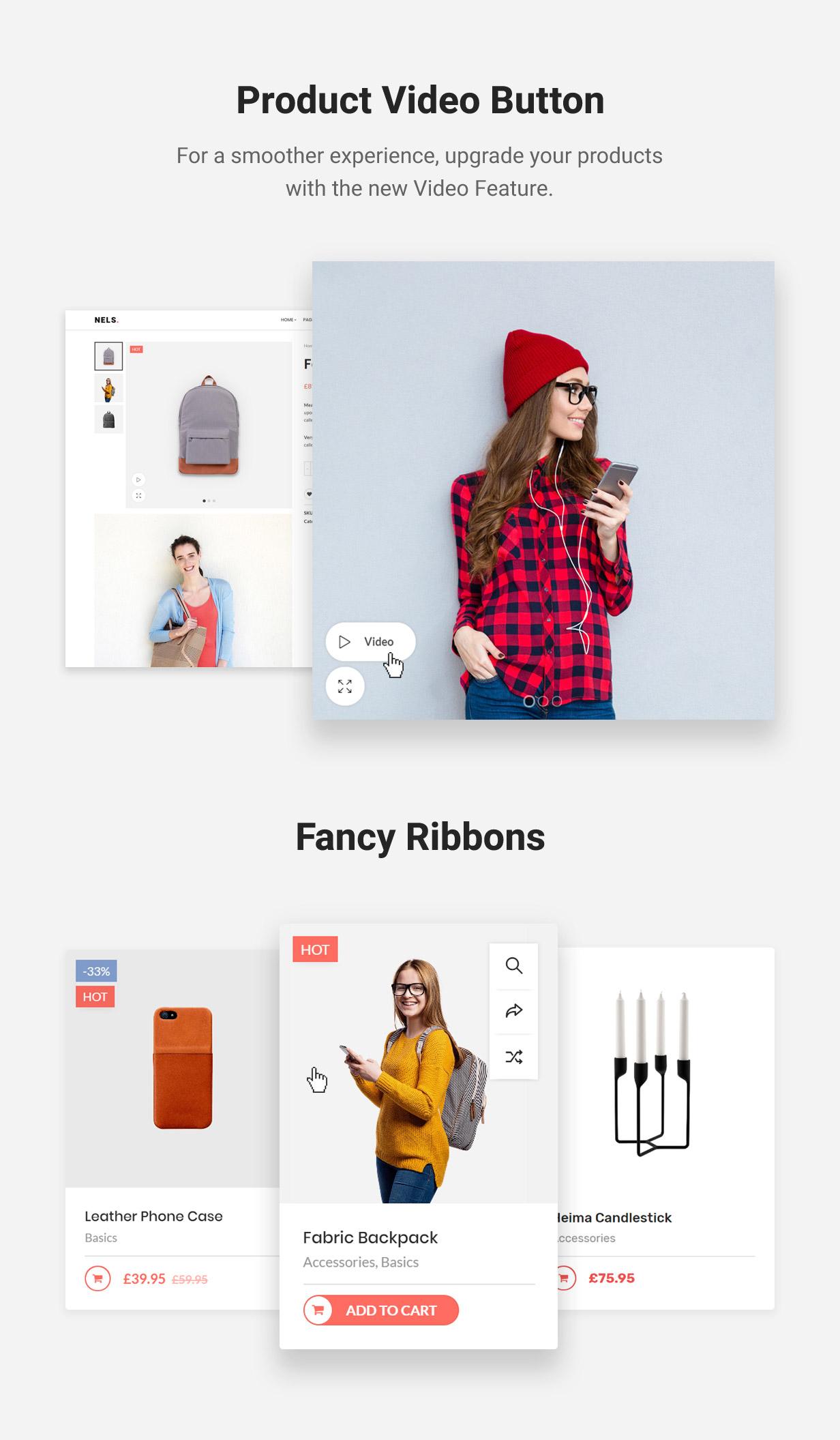 Nels - Ein exquisites eCommerce WordPress Template - 6
