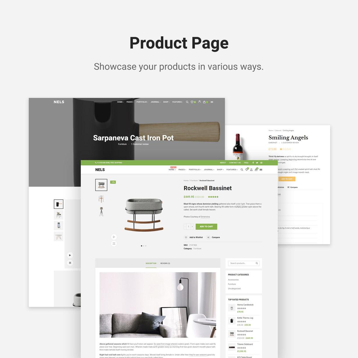 Nels - Ein exquisites eCommerce WordPress Template - 8