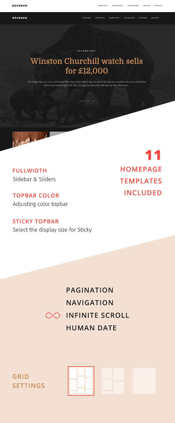 Bourbon - Responsive WordPress Blog Layout - 3