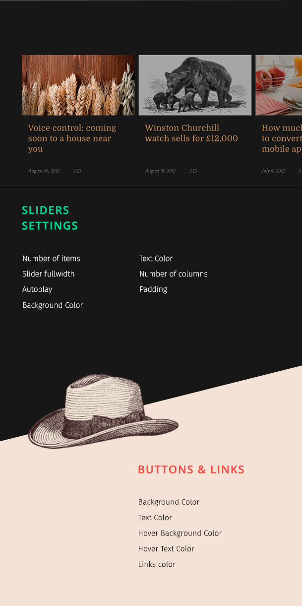 Bourbon - Responsive WordPress Blog Layout - 4