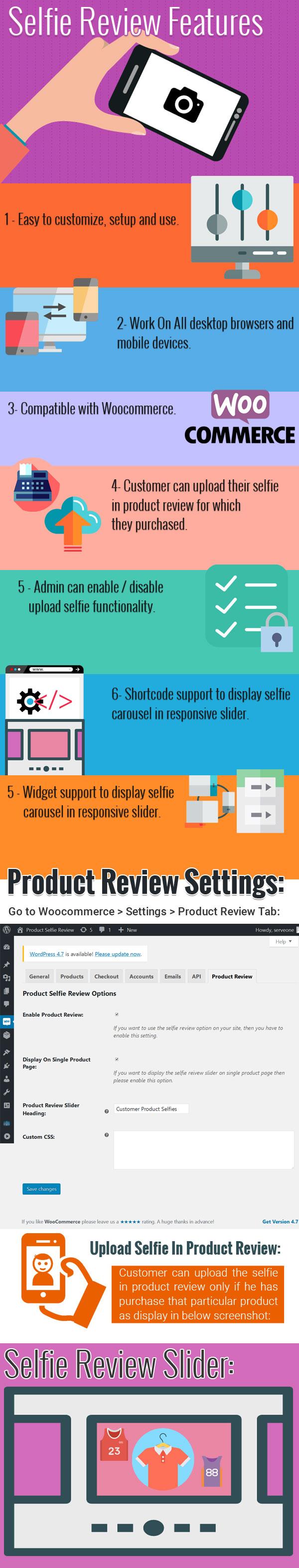 Woocommerce Product Selfie Bewertung - 1
