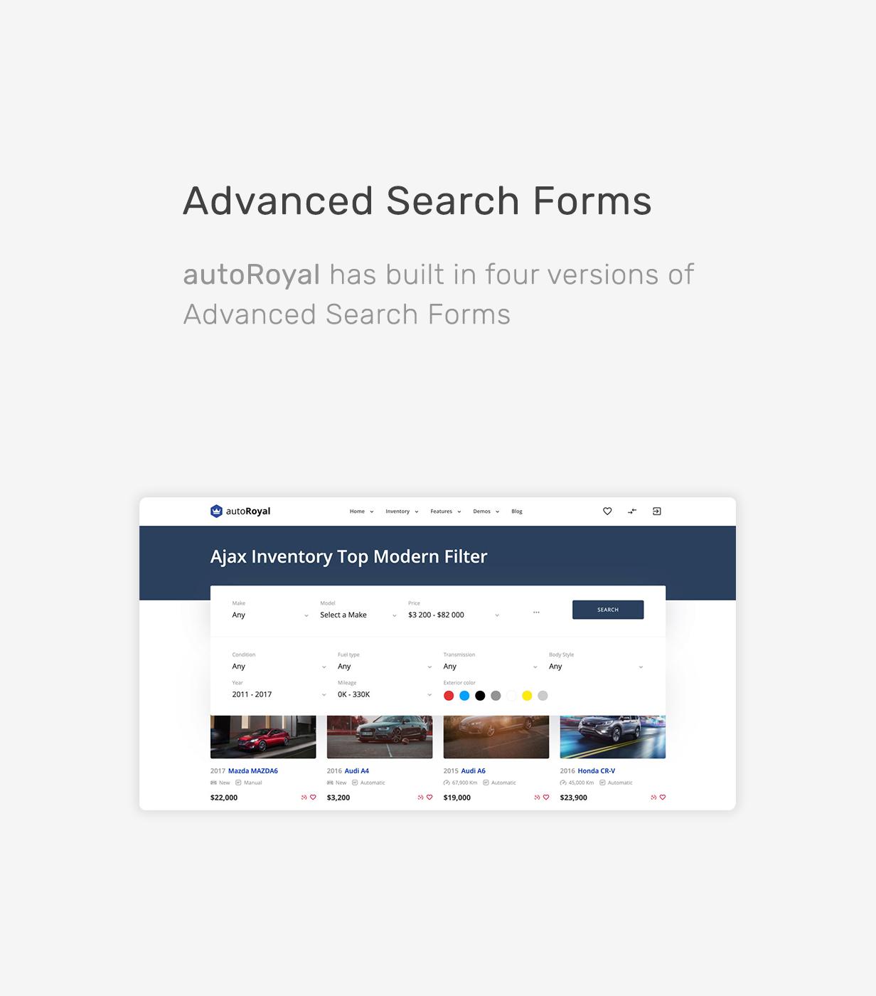 autoRoyal - Automotive WordPress Layout - 7