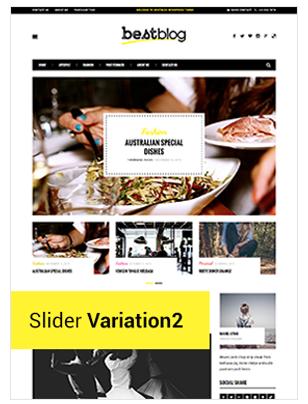 BestBlog - Responsives WordPress Blog Vorlage - 6