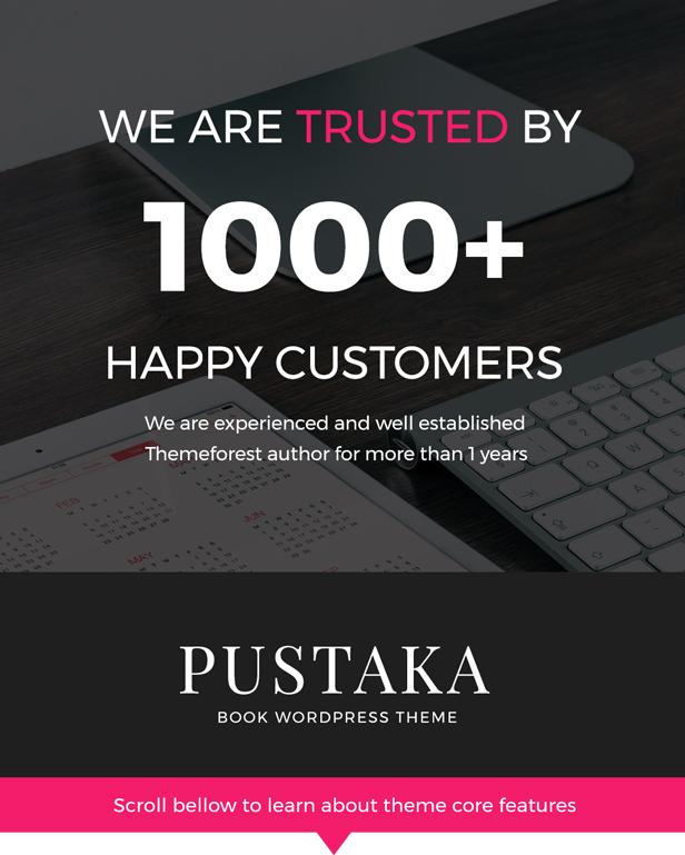 Pustaka - WooCommerce Vorlage für den Buchladen - 3