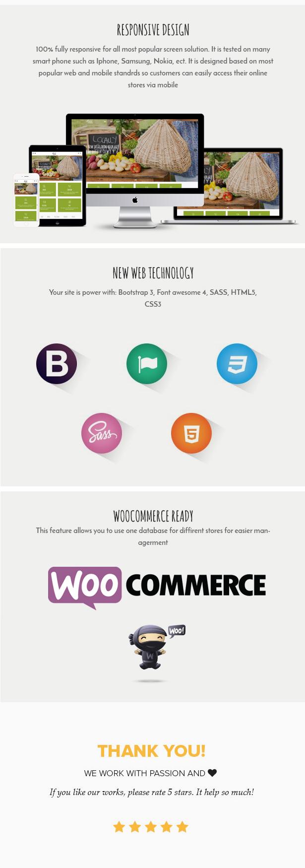 Veganes Essen - Bioladen - Farm Responsive Woocommerce WordPress Vorlage - 3