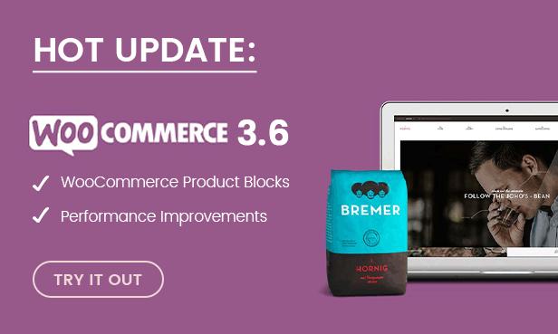 WooCommerce 3.6 bereit
