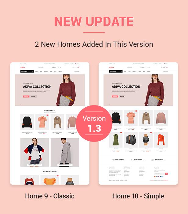 Adiva | eCommerce WordPress Template