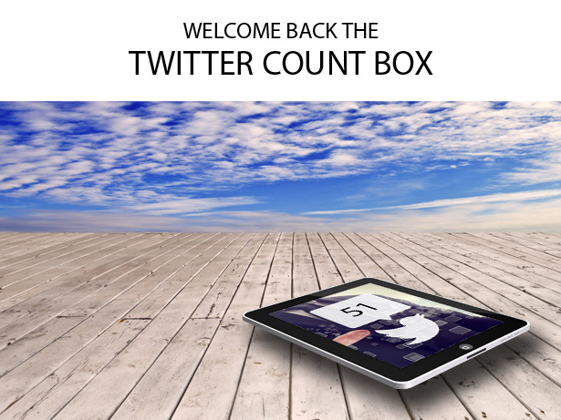 Twitter Share Count Sortierbares Addon - 2